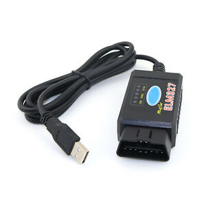 Usb Modified Obd2 Elm327 For Ford Ms Can Hs Can Mazda Forscan Diagnostic Scanner