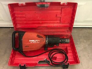 Hilti Te1000 Avr Electric Demolition Jack Hammer