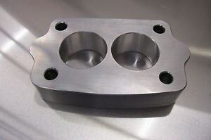 Fits Tri Power Riser Small Rochester Carb Spacer 2g Offenhauser 3x2 Intake 1