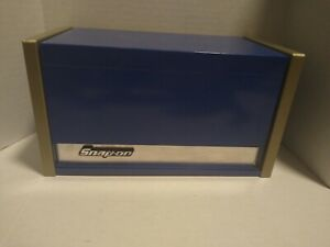 Snap On Royal Blue Mini Micro Top Chest Tool Box Rare