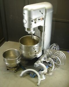 Hobart V1401 140 80 Qt Dough Mixer Pizza Bakery All Attachments For 140