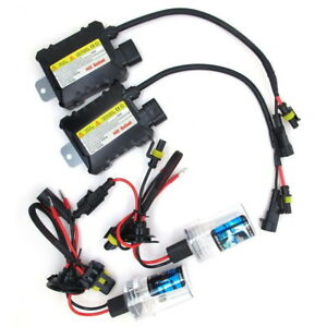 H3 Xenon Hid Conversion Kit Slim Ballasts Fog Light Ford Ba Bf Vt Vx Light Force