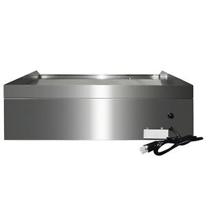 25 5 1600w Electric Countertop Griddle Flat Top Commercial Restaurant grill