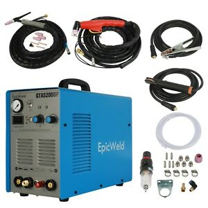 Plasma Cutter 50 Amp Tig Welder 200 Amp Foot Pedal Included 3 Year Warranty