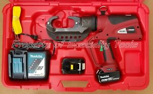 Burndy Pat46lwsli Hydraulic Battery Crimper 15t P U Die Adapter Crimping Tool