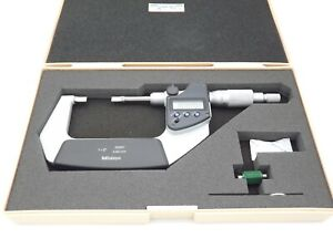 Mitutoyo 422 331 30 Digital Blade Micrometer 1 2 00005 Near Mint With Case