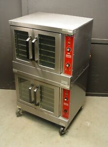 Vulcan Vc4gd 10 Natural Gas Double Stack Convection Oven