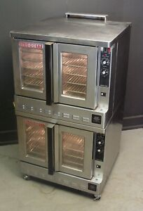Blodgett Zephaire 200 gl Bakery Depth Double Stack Natural Gas Convection Oven