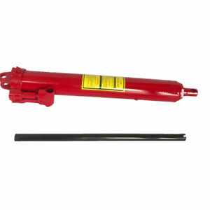 Manual 8 Ton Long Hydraulic Ram Jack Lift For Cranes Auto Car Engine Us Stock