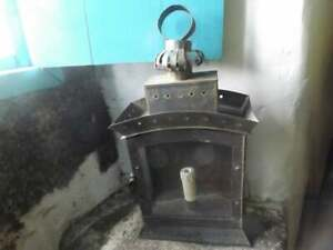 1800s French Metal Hanging Lantern Pendant Light Rewired For Electric