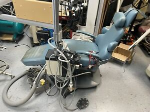 Dental Ez Chair W Adec Delivery And Pelton Amd Crane Lfii Light