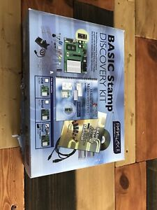 Parallax Basic Stamp Activity Kit Serial With Usb Adapter New Damaged Box 27207