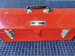 Vintage Mac Tool Box Mac 20 Inch Tool Box With Tray Used Vintage Tools And Gear