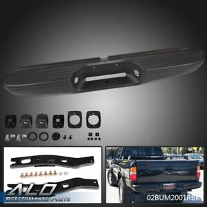 For 1995 2004 Toyota Tacoma Black Rear Step Bumper Face Bar To1102214
