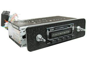 New Vw Ghia Type 3 Am Fm Ipod Mp3 Vintage Style Original Look Car Stereo Radio