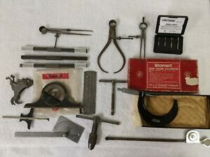 Lot Of 16 Mixed Machine Shop Tools