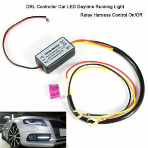 Car Automatic Led Daytime Running Light Relay Drl Controls On Off Voltage Sm