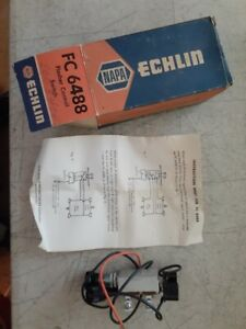 Vintage Nos Napa Echlin Flasher Control Switch Fc 6488 For Directional Lamps