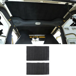 2x Inner Hardtop Insulation Cotton Sound Deadener For Jeep Wrangler Tj 1996 2007