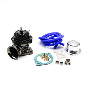 Universal Type Rs Black Turbo Blow Off Valve Adjustable 25psi Bov Blow Dump