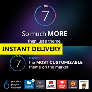 The7 Multi purpose Website Building Toolkit For Wordpress Theme Latest Version