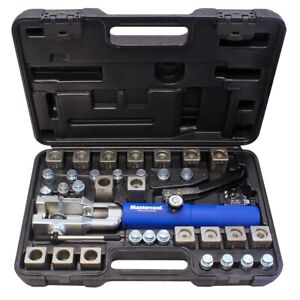 Mastercool 72485 prc Hydraulic Fuel Brake Coolant Line Flaring Tool Kit W Dies
