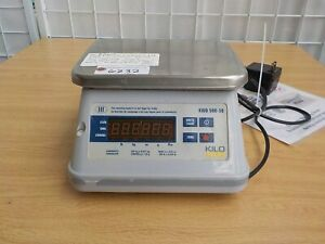 Kilotech All Purpose Digital Scale Kwd 500 50 weighs In G Kg Oz Lb Used