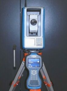 Spectra Precision Focus 30 3 Robotic Total Station tds Ranger 3 W Survey Pro