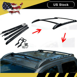 For 2005 2019 Toyota Tacoma Trd Pro Cab Roof Rack Top Cross Bar Side Rail Truck