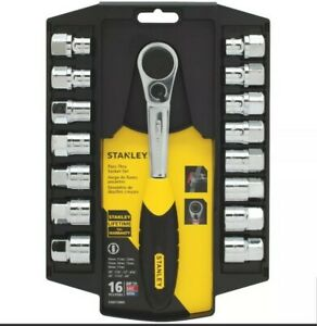 Stanley 16 piece Pass thru Socket Set Great Deal Give Offer