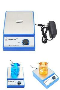 Magnetic Stirrer Stainless Steel Magnetic Mixer With Stir Bar Scientific Health