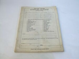 Allis chalmers Mounted 2 4 Row Planters Operator s Manual