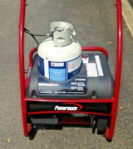 Powermate Lpg 5500 Propane Powered Electric Start Generator