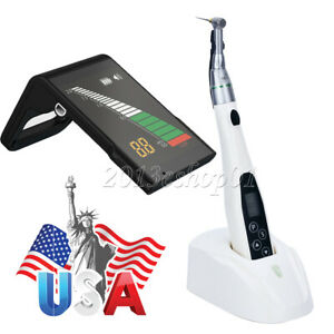 Dental Led Wireless Endo Motor 16 1 Handpiece Or Endon Apex Locator Root Cancal