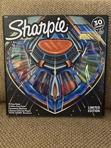 Sharpie Limited Edition Permanent Marker 30 Piece Set 6 Bonus Activity Pages New