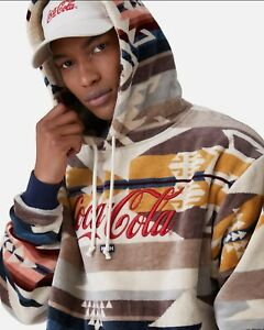 Kith X Pendleton X Coca Cola Hoodie Mens Size XS Extra Small  New  In Hand