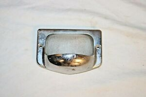 Vintage Frc 1930 s 40 s Chevy Ford Dodge Rat Rod Glass Dome Light Lens