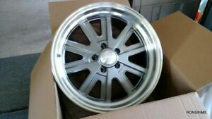 1 17x7 American Racing 527 Shelby Wheels 5 On 4 5 Mopar Ford Plymouth