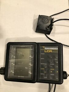 Humminbird LCR 2000 Portable Fishfinder. No Accessories Are Included.
