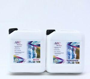 Art Resin 1 Gal Kit Crystal Clear Epoxy Resin Art And Diy Art Resin For Craft