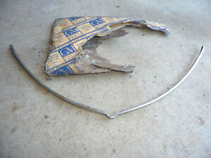 Nos 1941 Chevrolet Hood Grille Surround Lower Moulding Stainless Trim Ct32