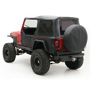 Smittybilt 9870215 Replacement Soft Top Fits 1987 1995 Jeep Wrangler Yj