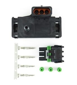 Gm 2 Bar Map Sensor W Connector Kit Made In The Usa Free Shipping Best Offer