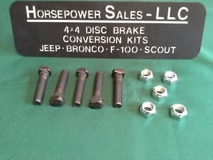 Dana 44 Dana 60 Spindle Knuckle Studs Ford F150 F250 F350 Bronco W Spicer Axle