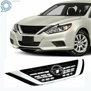 For 2016 2017 2018 Nissan Altima Front Bumper Upper Grill Grille Assembly