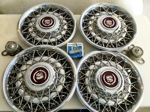 Cadillac Deville Wire Wheel Covers