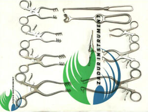 Surgical Veterinary Retractors Weitlaner Gelpi Premium Instruments Set Of 10