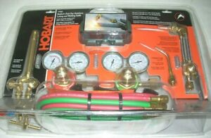 Hobart 770502 Medium Duty Oxy acetylene Cutting Welding Torch Outfit W Extras