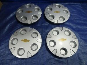 1999 2004 Chevrolet S10 Blazer Xtreme Extreme Center Hub Cap Set Of 4