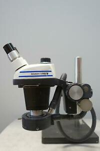 Baush Lomb Stereozoom 5 With Arm And Base